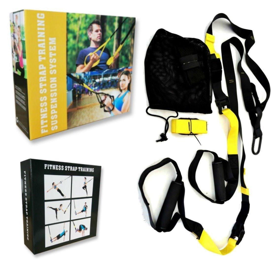 Тренировочные петли фитнес тренажер Fitness Strap Training TRX Fit