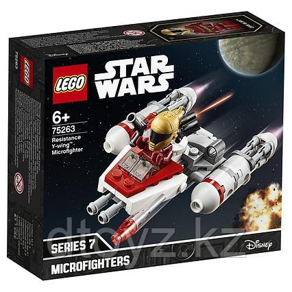 Lego Star Wars 75263 Микрофайтеры Истребитель Сопротивления типа Y