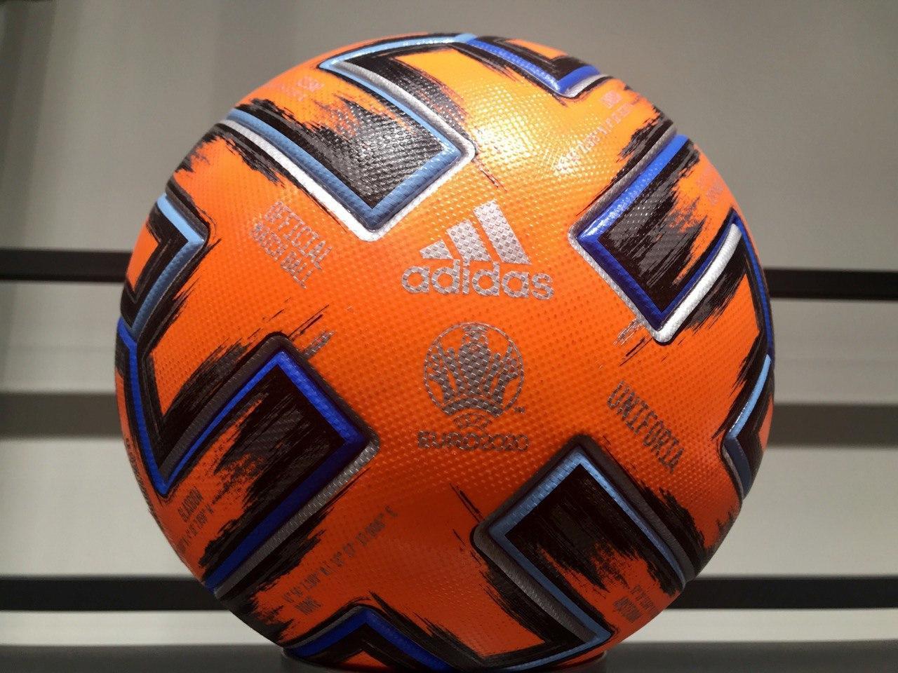 Мяч ADIDAS-OFFICIAL MATCH BALL UNIFORIA EURO 2020