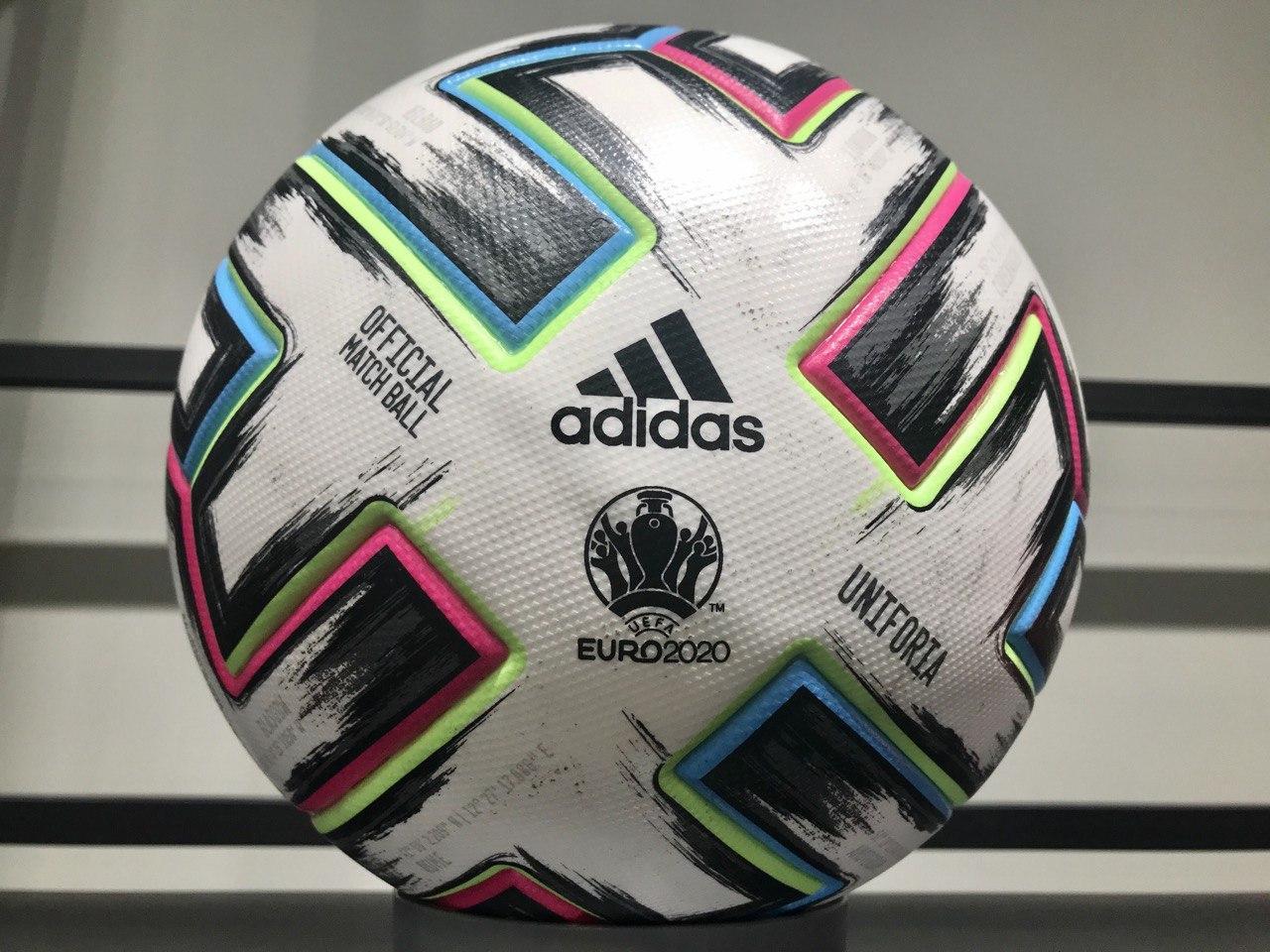 МЯЧ ФУТБОЛЬНЫЙ- ADIDAS UNIFORIA PRO OFFICIAL MATCH BALL EURO 2020