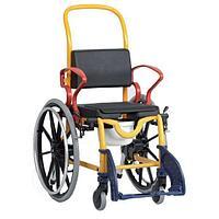 Кресло-туалет Аугсбург с большими колесами
