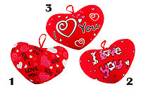 Подушка антистресс «Сердце с признанием »