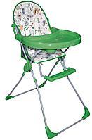 Стульчик для кормления Selby 152 Совы зеленый, фото 1