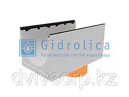 Лоток водоотводный бетонный коробчатый (СО-500мм), с чугунной насадкой, с водосливом КUв 100.60,3 (50).50(41)