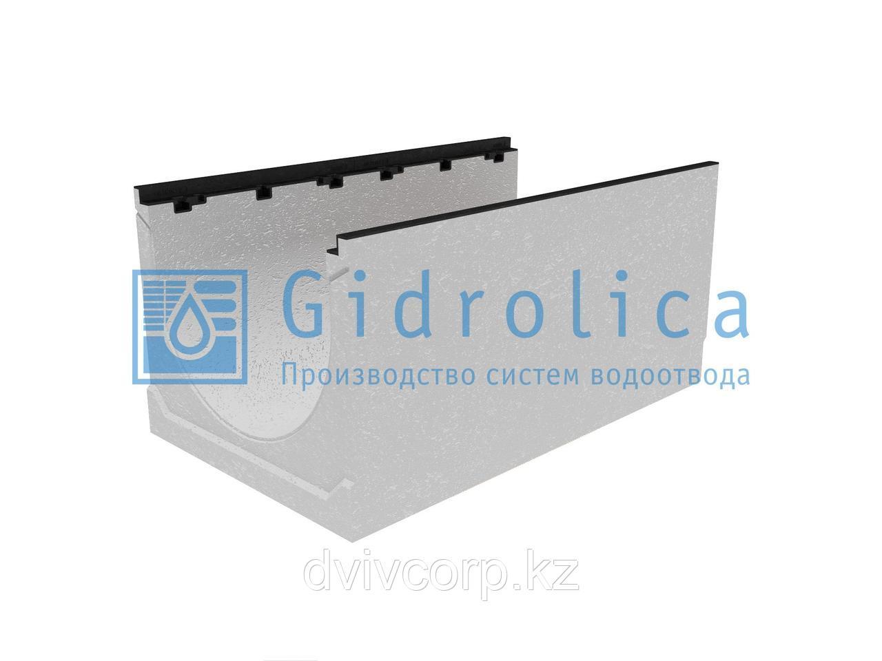 Лоток водоотводный бетонный коробчатый (СО-500мм), с чугунной насадкой  КU 100.60,3 (50).47,5(38,5) - BGZ-S, №