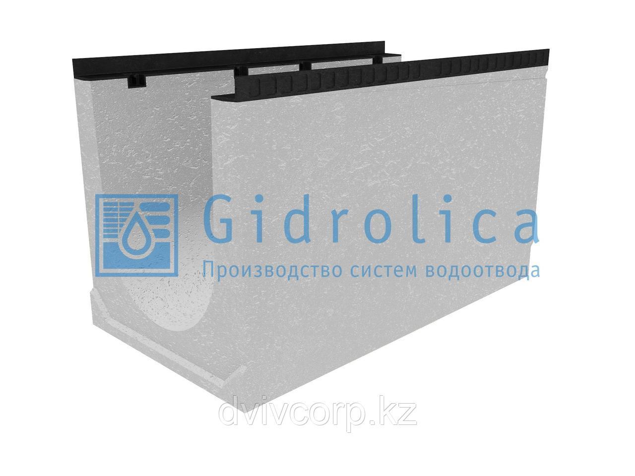 Лоток водоотводный бетонный коробчатый (СО-400мм)КU 100.54(40).60(52) - BGМ, № 30-0