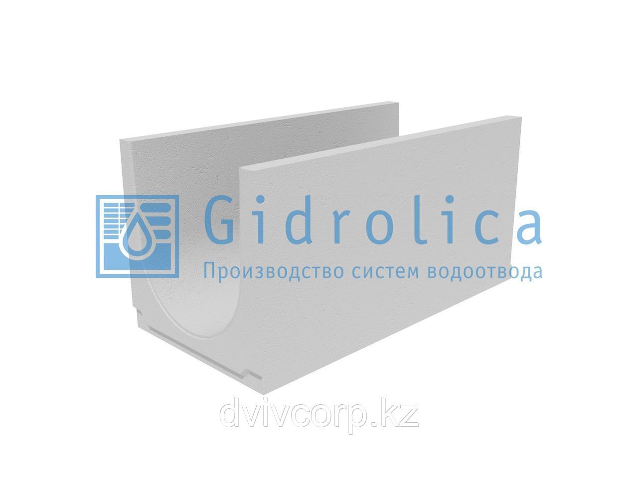 Лоток водоотводный бетонный коробчатый (СО-400мм) КU 100.49,4(40).49,5(42,5) - BGU, № 20-0