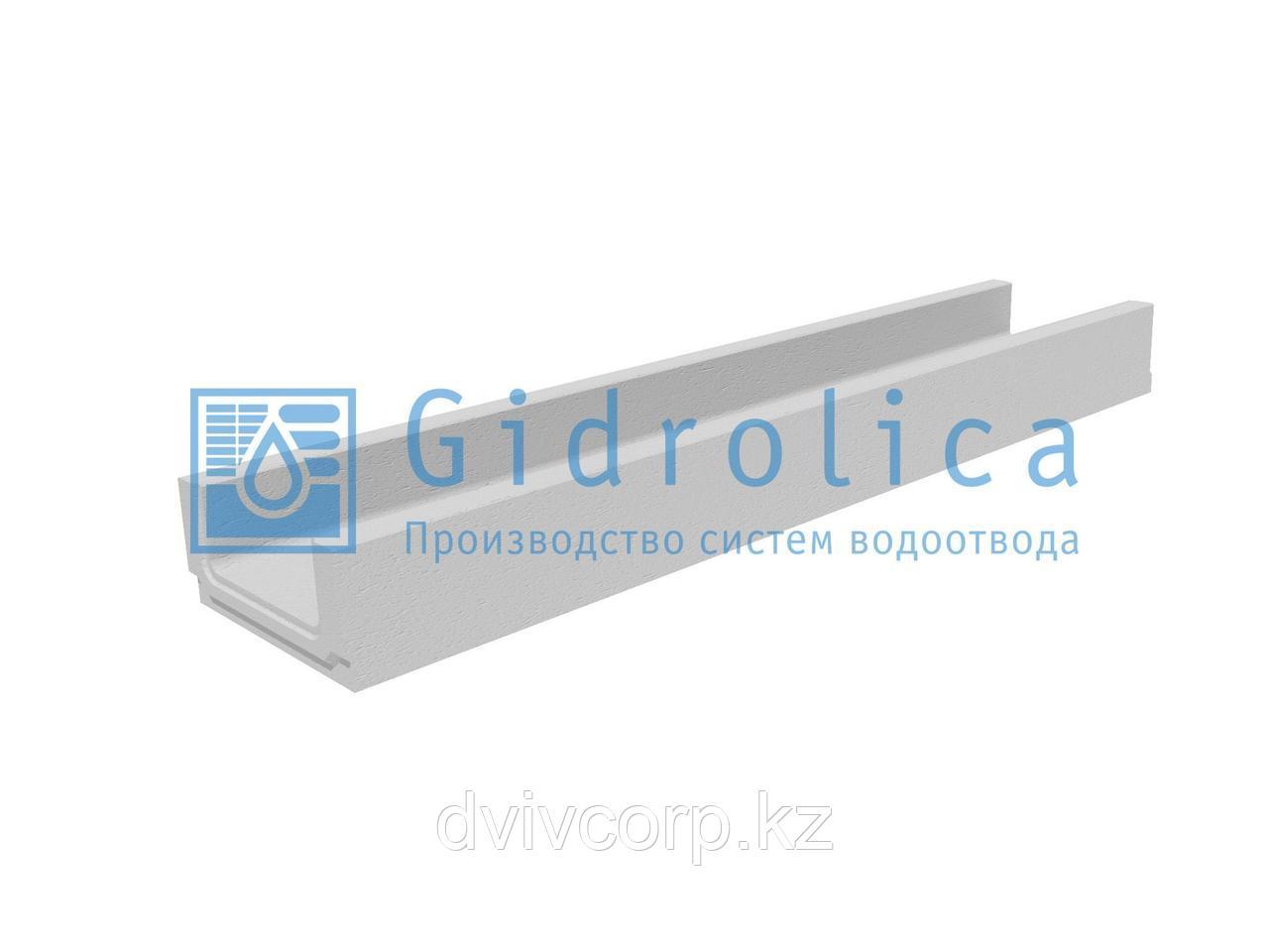 Лоток водоотводный бетонный коробчатый (СО-150мм)  КП 100.21 (15).10(6,5) - BGF