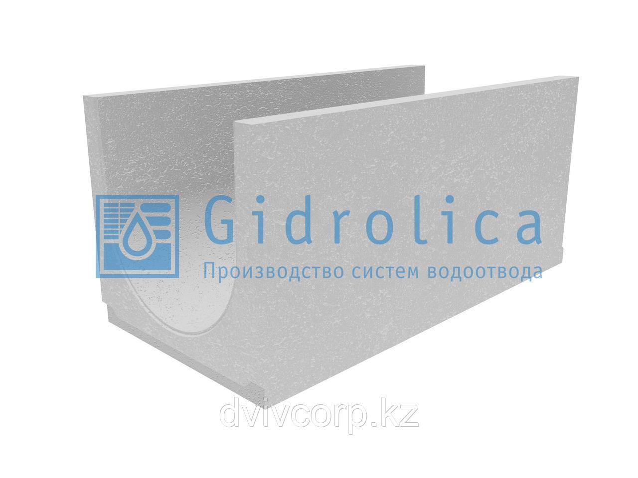 Лоток водоотводный бетонный коробчатый (СО-400мм), с уклоном 0,5%  КUу 100.49,4(40).48(41) - BGU, № 17