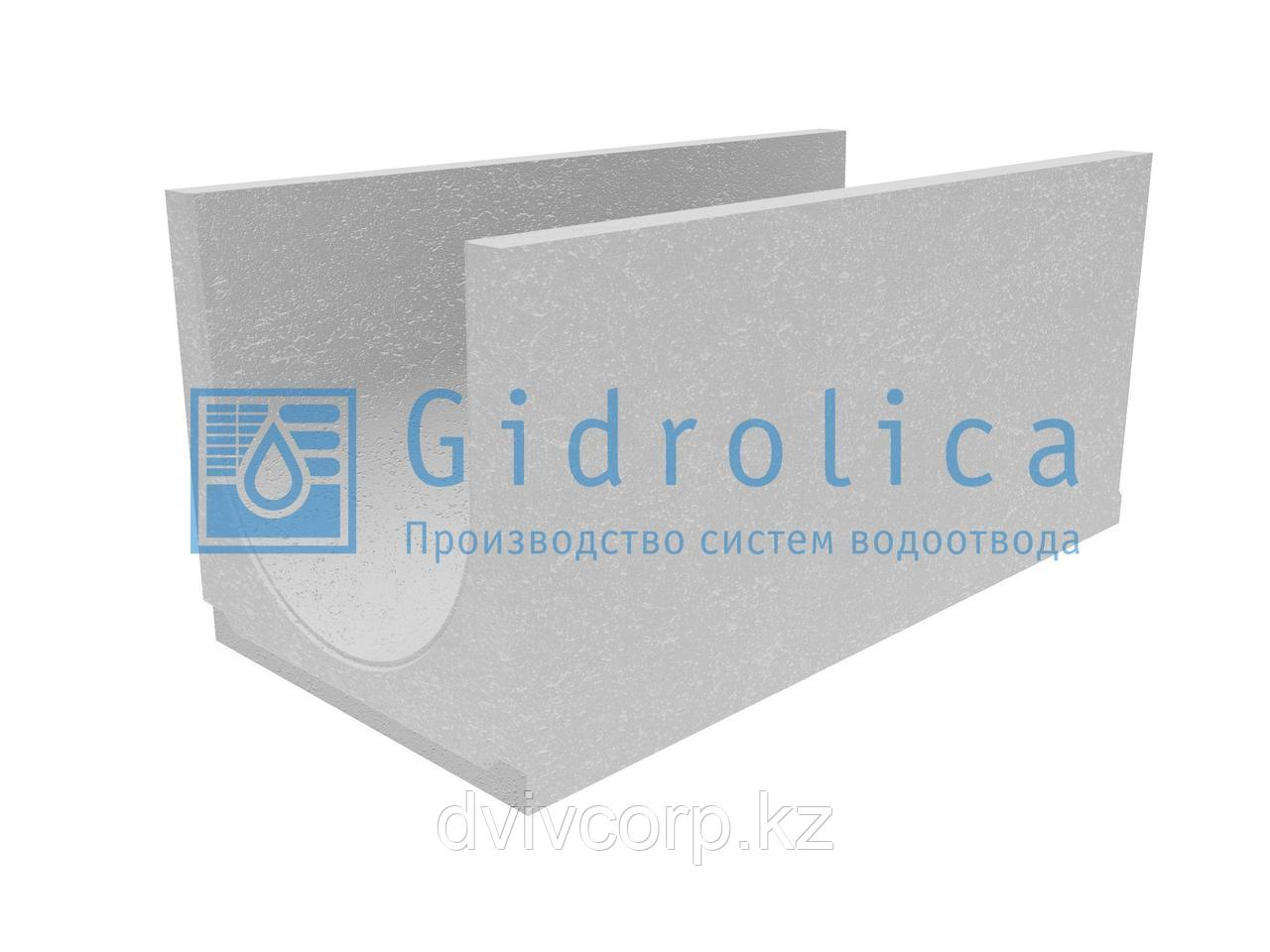 Лоток водоотводный бетонный коробчатый (СО-400мм), с уклоном 0,5% КUу 100.49,4(40).49(42) - BGU, № 19