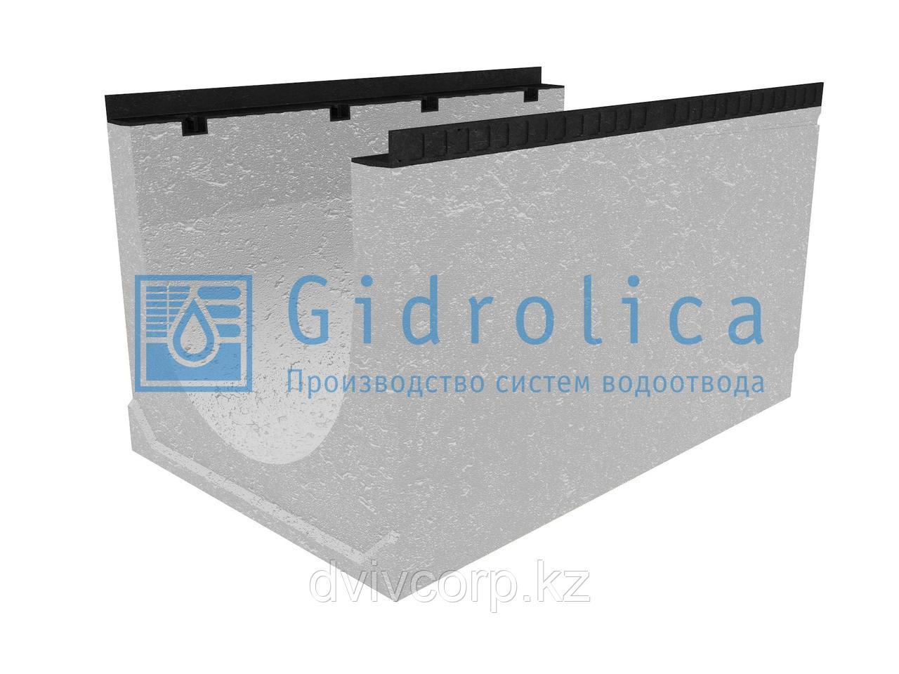 Лоток водоотводный бетонный коробчатый (СО-500мм), с уклоном 0,5%  КUу 100.65(50).58(49) - BGМ, № 26