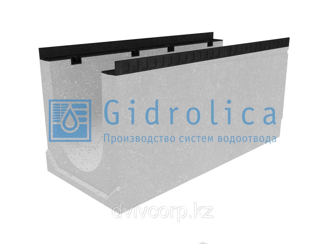 Лоток водоотводный бетонный коробчатый (СО-300мм), с уклоном 0,5%  КUу 100.44(30).48,5(41,5) - BGМ, № 7