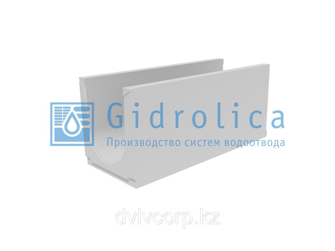Лоток водоотводный бетонный коробчатый (СО-300мм), с уклоном 0,5%  КUу 100.39,4(30).44(37) - BGU, № 9