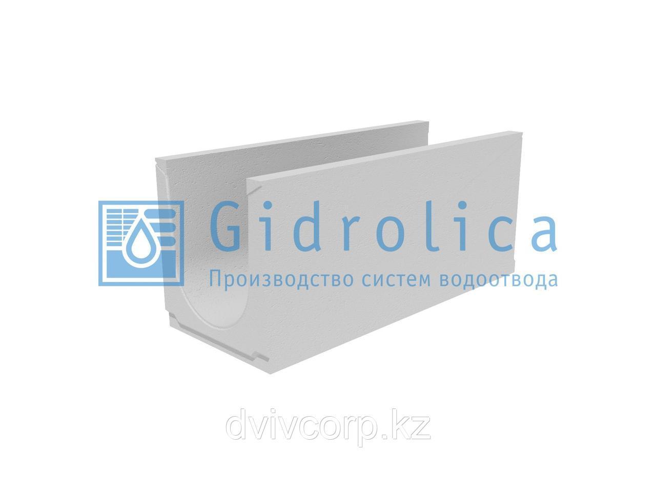 Лоток водоотводный бетонный коробчатый (СО-300мм), с уклоном 0,5% КUу 100.39,4(30).43,5(36,5) - BGU, № 8