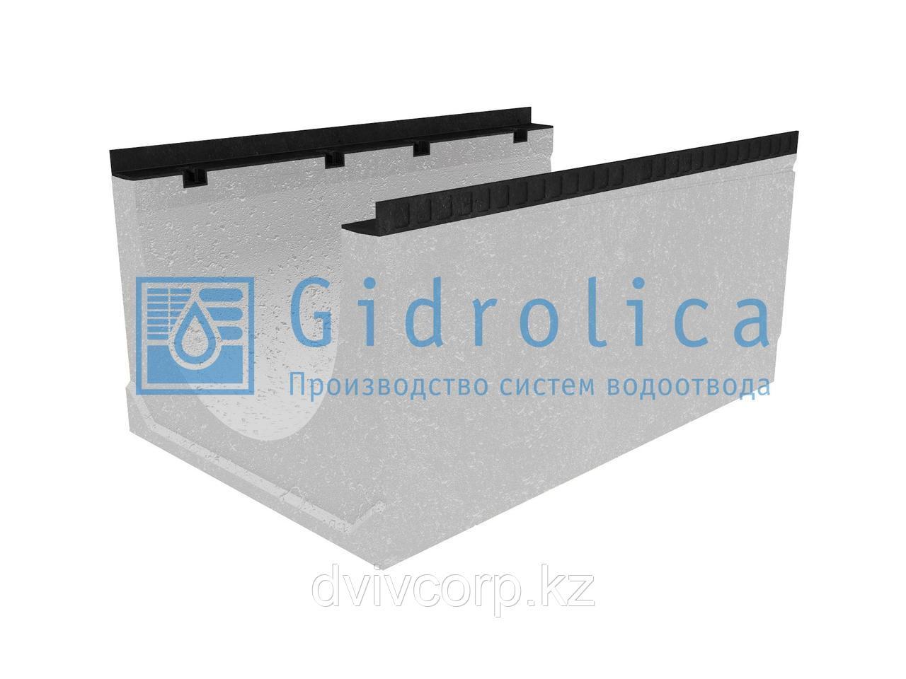 Лоток водоотводный бетонный коробчатый (СО-500мм), с уклоном 0,5%  КUу 100.65(50).48(39) - BGМ, № 6