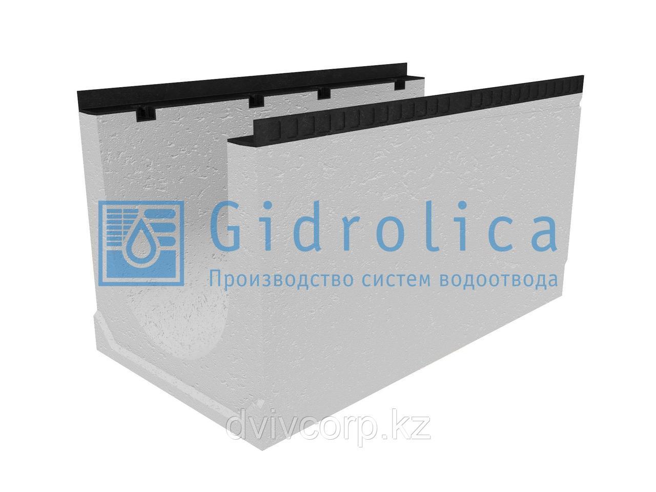 Лоток водоотводный бетонный коробчатый (СО-400мм), с уклоном 0,5%  КUу 100.54(40).55(47) - BGМ, № 20
