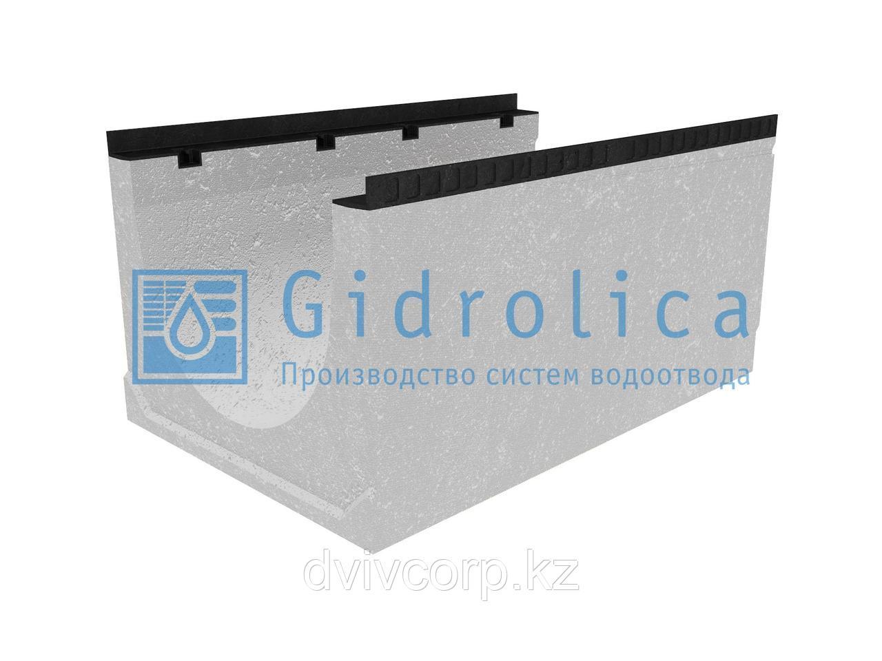 Лоток водоотводный бетонный коробчатый (СО-500мм), с уклоном 0,5%  КUу 100.65(50).51(42) - BGМ, № 12