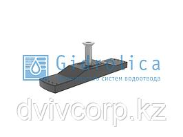Крепеж Gidrolica для лотка водоотводного пластикового DN100 для арт.508/1