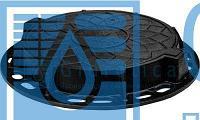 Арт. 217 Люк канализационный - чугунный тип Т