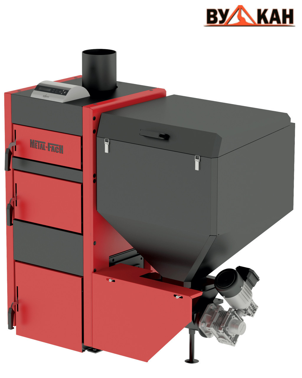Автоматический котел Metal-Fach SMART Auto ECO 25 кВт с правой подачей