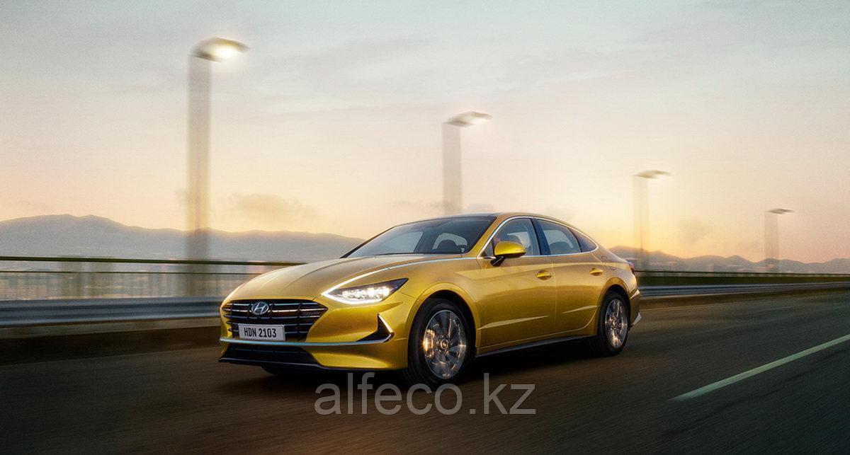 Защита картера и КПП Hyundai Sonata (DN8) 2019-