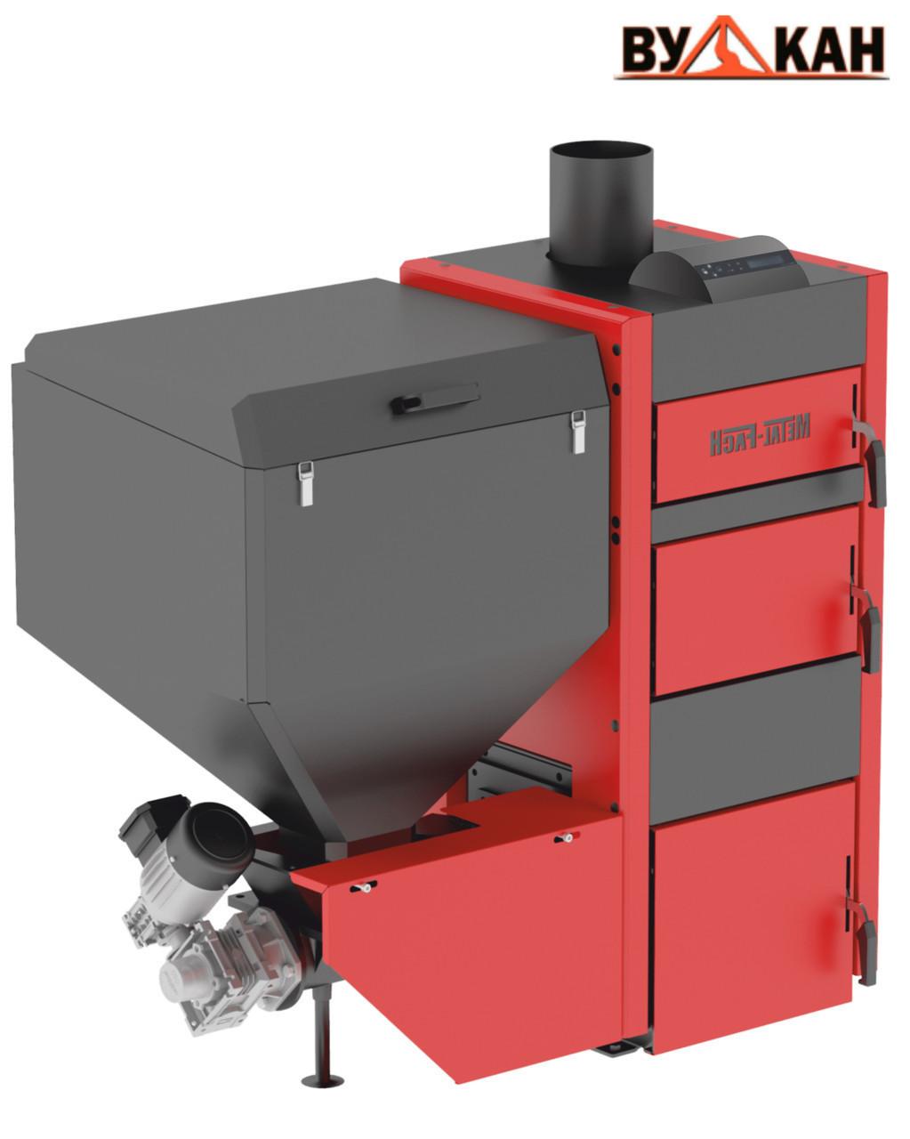 Автоматический котел Metal-Fach SMART Auto BIO 25 кВт с левой подачей