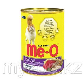 Ме-О ,влажный корм с морепродуктами 400гр