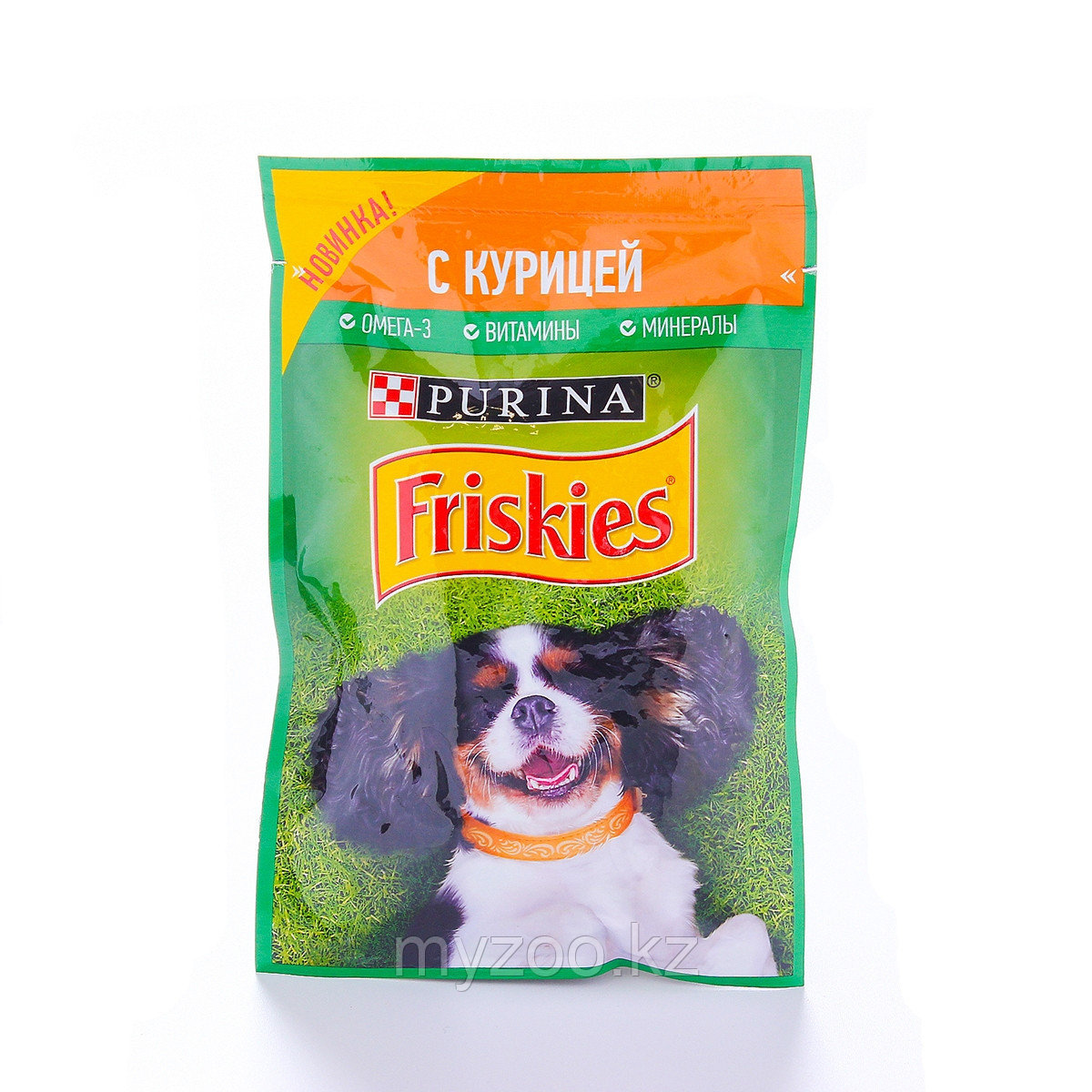 Friskies Фрискис влажный корм для собак с курицей,85гр
