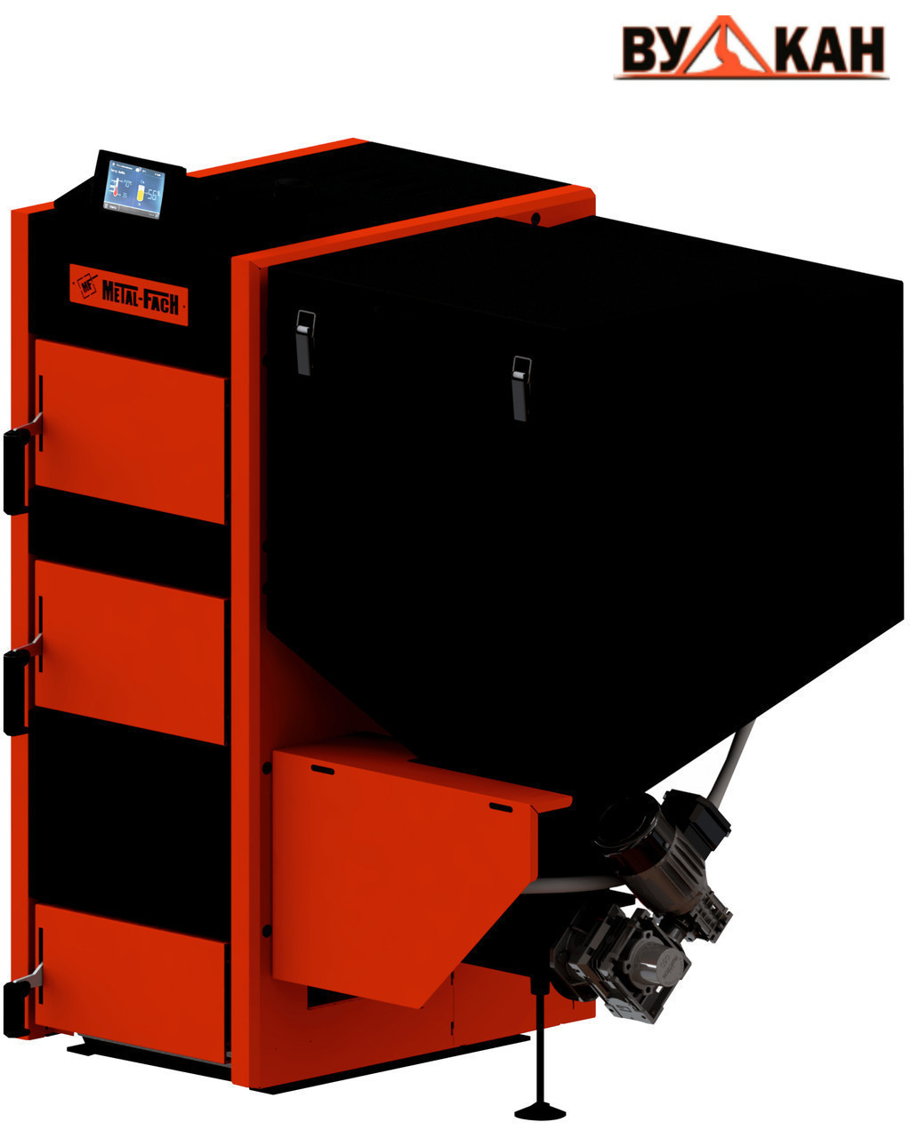 Автоматический котел Metal-Fach SEG 300 кВт с правой подачей