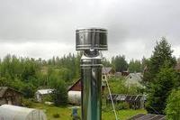 Оголовок-дефлектор. Sferra. 115х200. (нерж-нерж). 0,5 мм.Уфа., фото 1