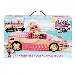 Машина для кукол L.O.L Surprise! Кабриолет с куклой ЛОЛ сюрприз 565222