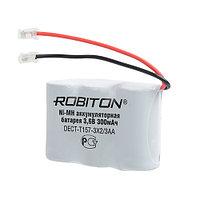 Аккумулятор Robiton DECT-T157-3X2/3AA (T107, KX-A36A, HHR-Р301, P-P301) Ni-MH, 3.6V, 300mAh