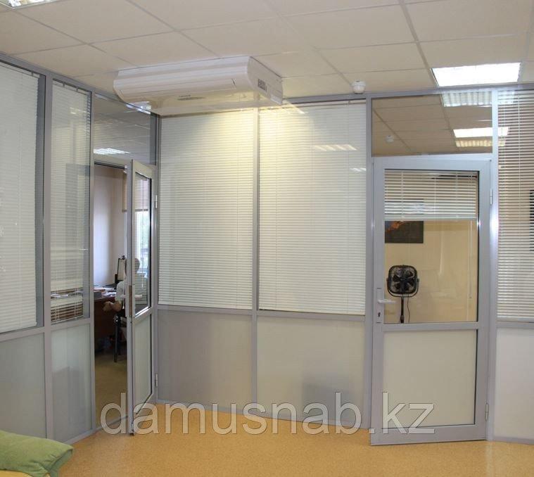 Офисные перегородки,перегородки в помещениях.