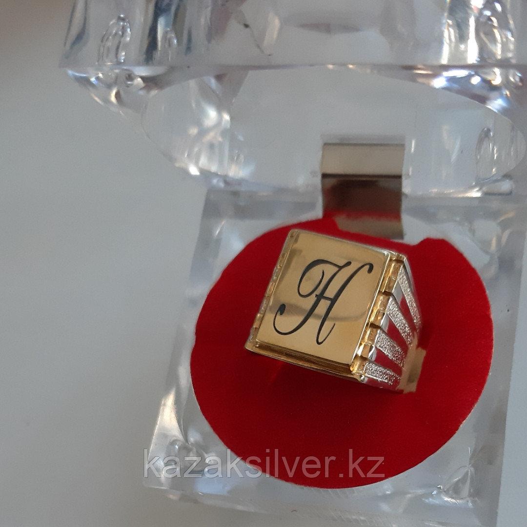 Мужская печатка с гравировкой