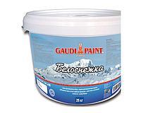 Эмульсия Гауди Белоснежка 25кг акриловая краска