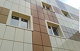 Монтаж алкана(лист алюминия). на фасады зданий, входные группы, параппеты, откосы,отливы. Покраска., фото 2