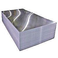 Лист алюминиевый гладкий.