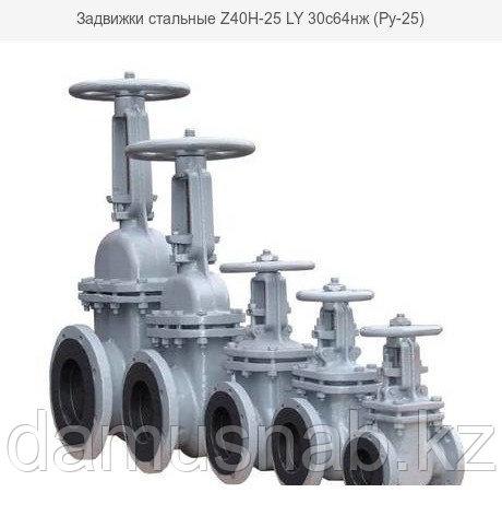 Задвижки стальные (Ру-25) 30с64нж