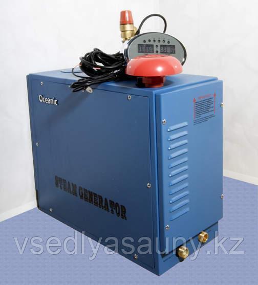 Парогенератор для хаммама Oceanic. OC-150B. (пульт, авто промывка,пульт). Производства. Китай. - фото 6