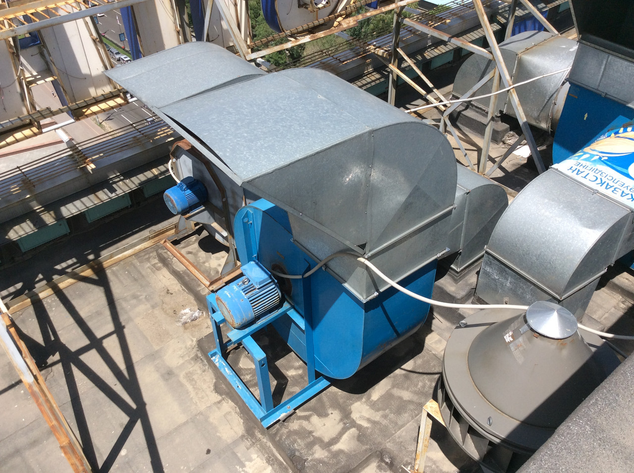 Техническое обслуживание вентиляционных машин и вентиляторов