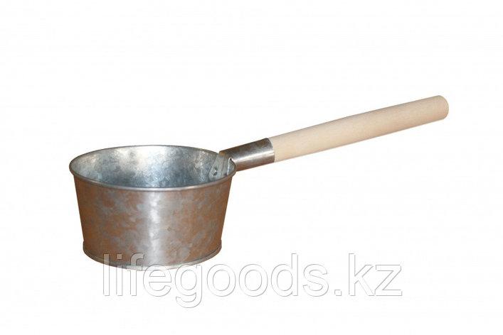 Ковш 1,5л с деревянной ручкой 3-70102, фото 2