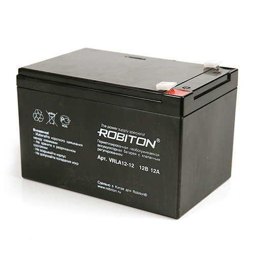 Аккумулятор ROBITON VRLA12-12   12v 12AH