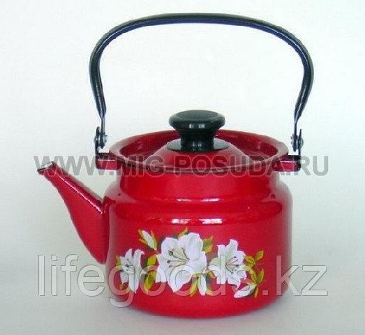 Чайник 2л б/св п/р (красный) арт. 42715-103/6