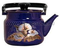 Чайник 2л б/св п/р (синий) арт. 42715-103/6