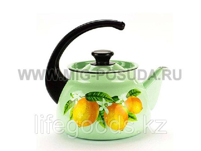 Чайник 3л б/св (салатный) арт. 42715-123/6