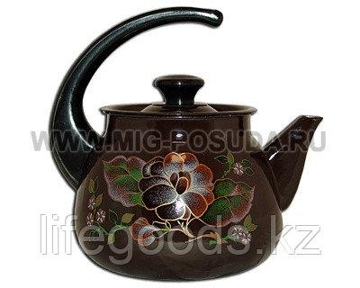 Чайник 3л б/св к/р  (коричневый) арт. 42704-122/6, фото 2