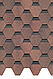 Черепица Premium Шеффилд (Бисквит, кофе, миндаль, клубника, зрелый каштан), фото 3