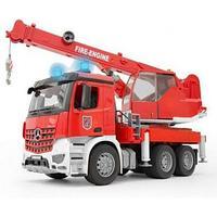 Bruder Пожарная машина автокран MB Arocs с модулем со световыми и звуковыми эффектами 03-675