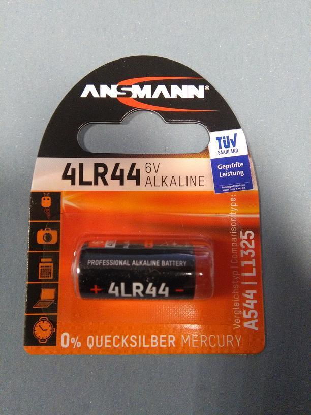 Батарейка Ansmann 4LR44 6V