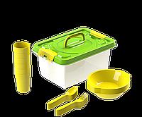 Набор посуды для пикника №6 «Вояж» (6 персон, 25 предметов) АП 188